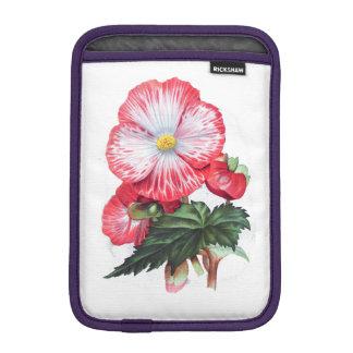 ELEGANT VINTAGE RED FLORAL SLEEVE FOR iPad MINI