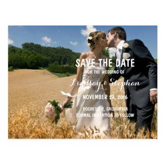 Elegant Vintage - Save the Date Photo Invitations
