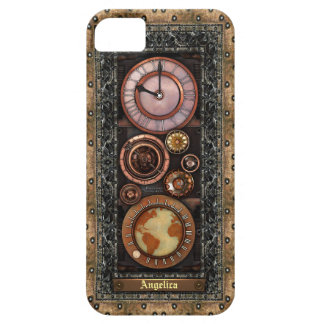 Elegant Vintage Steampunk Timepiece Case For The iPhone 5