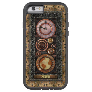 Elegant Vintage Steampunk Timepiece Tough Xtreme iPhone 6 Case