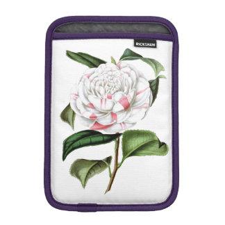 ELEGANT VINTAGE WHITE FLORAL iPad MINI SLEEVES