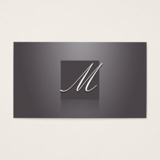 Elegant Violet Business Card