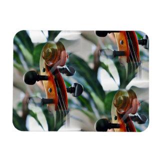 Elegant Violin Scroll Magnet