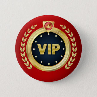 Elegant VIP Access Badge 2 Inch Round Button