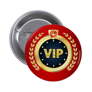 Elegant VIP Access Badge 2 Inch Round Button