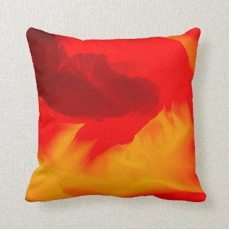 Elegant Warm Colors Throw Pillow