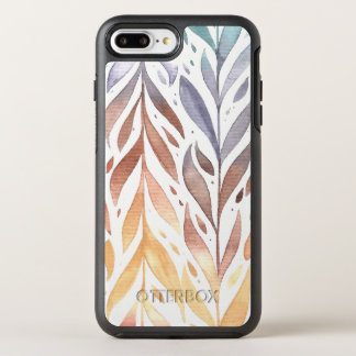 Elegant Watercolor Autumn Leaves | Phone Case