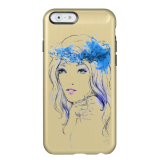 Elegant watercolor hand drawn woman  illustration incipio feather® shine iPhone 6 case