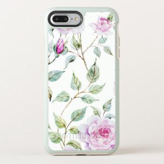 Elegant Watercolor Leaves and Roses | Phone Case