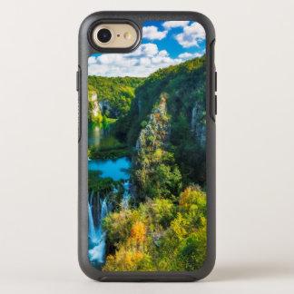 Elegant waterfall scenic, Croatia OtterBox Symmetry iPhone 8/7 Case