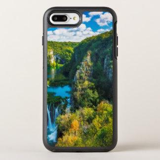 Elegant waterfall scenic, Croatia OtterBox Symmetry iPhone 8 Plus/7 Plus Case