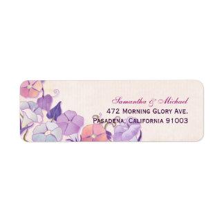Elegant Wedding Address Label