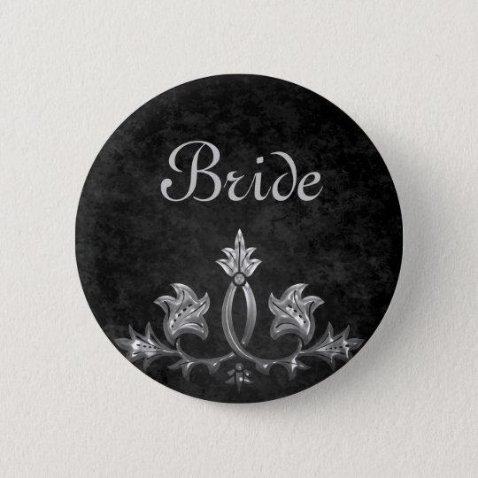 Elegant wedding Bride 2 Inch Round Button