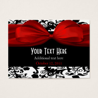 Elegant Wedding Gift Tags Business Card