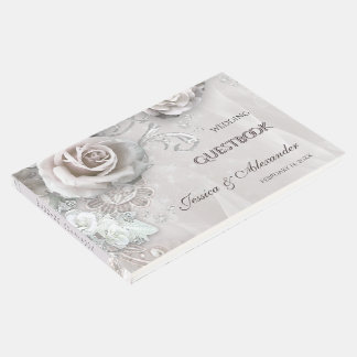 Elegant Wedding Guest Book
