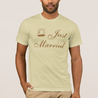 Elegant Wedding Just Married T-Shirt