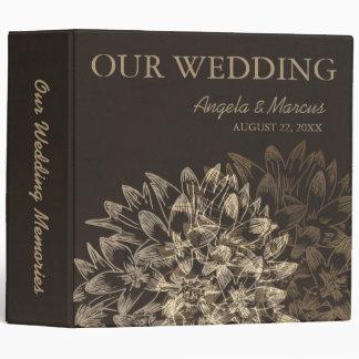 Elegant Wedding Memories Binder