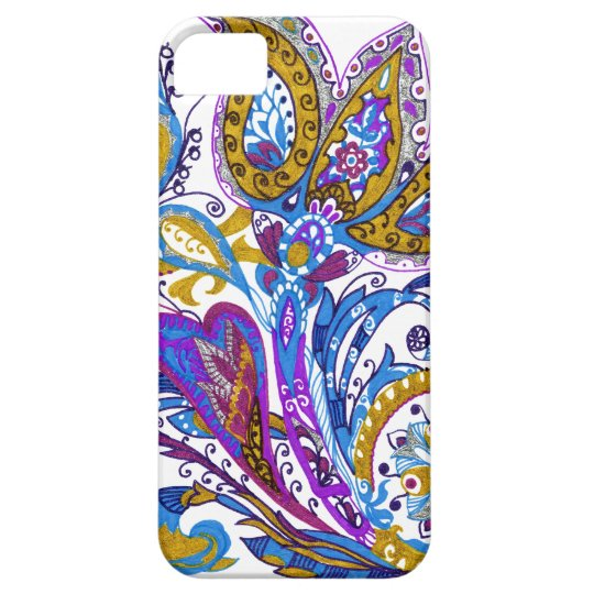 Elegant wedding ornament. Stylish paisley design Case For The iPhone 5