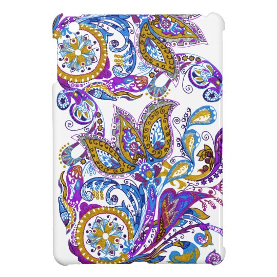Elegant wedding ornament. Stylish paisley design iPad Mini Case
