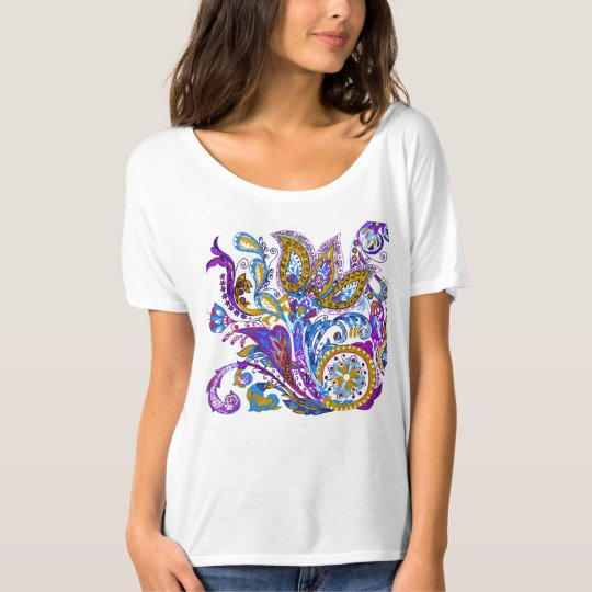 Elegant wedding ornament. Stylish paisley design T-Shirt