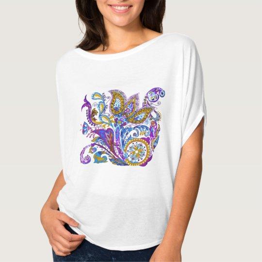 Elegant wedding ornament. Stylish paisley design T-Shirt