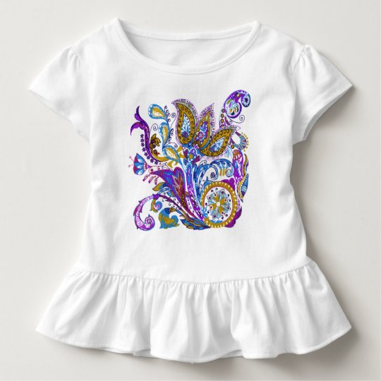 Elegant wedding ornament. Stylish paisley design Toddler T-shirt