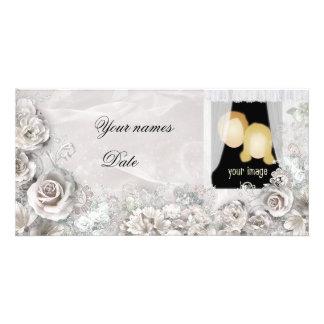 Elegant Wedding Picture Card