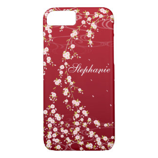 Elegant Weeping Cherry Blossoms iPhone 7 Case