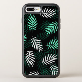 Elegant White and Green Palm Leaves | Phone Case
