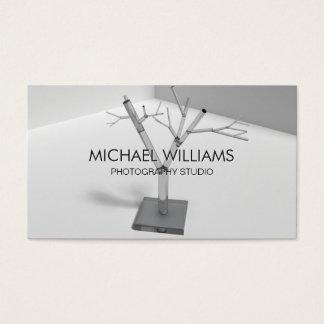 Elegant white Crystal Business Card