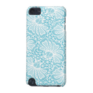 Elegant White Floral Lace Pattern iPod Touch 5G Cover