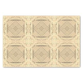 Elegant White Gold Faux Foil Tissue Paper