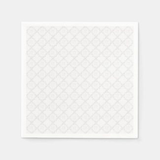 Elegant White Lace Paper Napkin