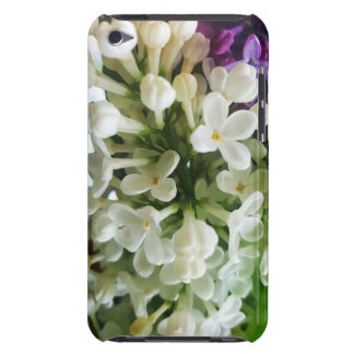 Elegant white lilac blossom photo iPod touch Case-Mate case