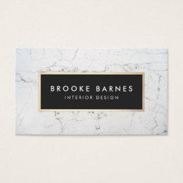 business cards interior design. Elegant White Marble Interior Designer Business Card Cards Design C