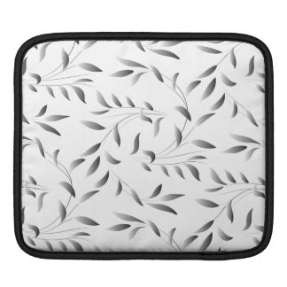 Elegant Willow Leaf Pattern Sleeves For iPads