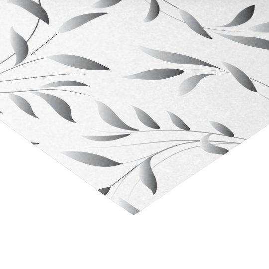 Elegant Willow Leaf Pattern Tissue Paper