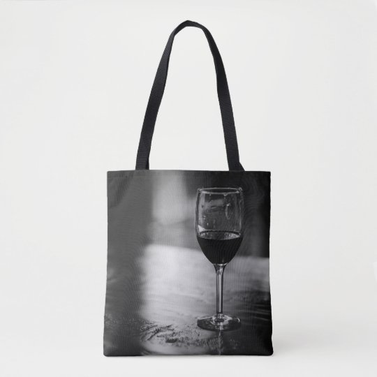 Elegant Wine Lover's Tote Bag