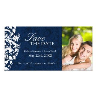 Elegant Winter wedding Save The Date Invitation