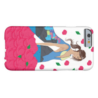 Elegant woman barely there iPhone 6 case