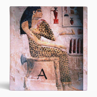 ELEGANT WOMAN ,FASHION AND BEAUTY OF ANTIQUE EGYPT VINYL BINDER