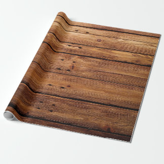 Elegant Wood Wrapping Paper