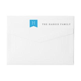 Elegant Wrap Around Return Address Wraparound Return Address Label