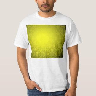 Elegant Yellow Damask Pattern Wedding gift T-Shirt