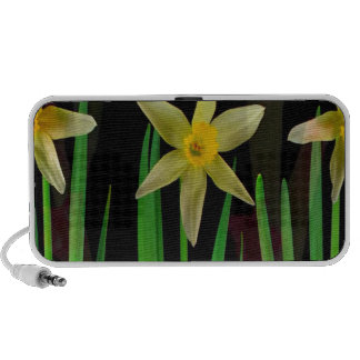 Elegant Yellow Flower Floral Bouquet Gifts Romance Mini Speakers