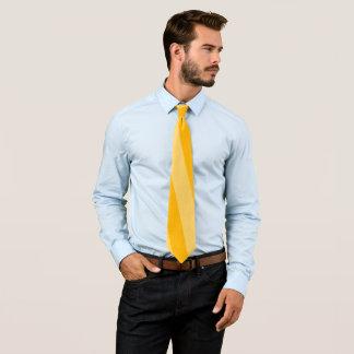 Elegant Yellow Stripe Tie