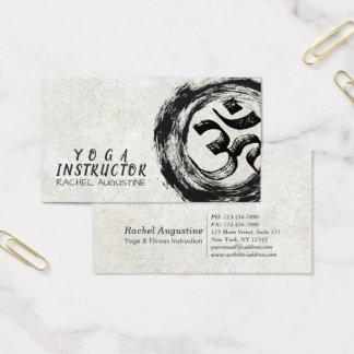 Custom Zen Calligraphy Business Cards