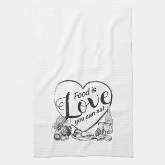 Elegante Outline Kitchen Towel