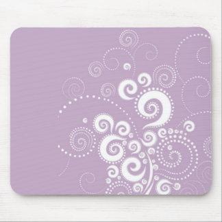 Elegante Polka Dots Mousepad