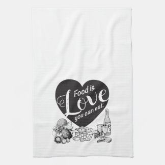 Elegante Solid Kitchen Towel